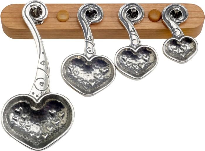 Heart Designed Measuring Spoons