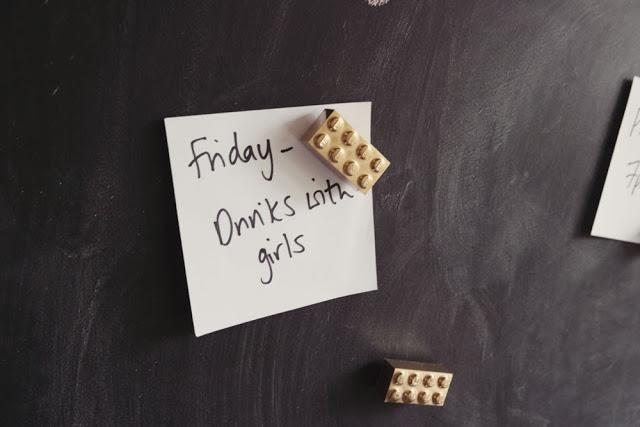 DIY Golden Lego Magnets for Lego Lovers | Home Designing