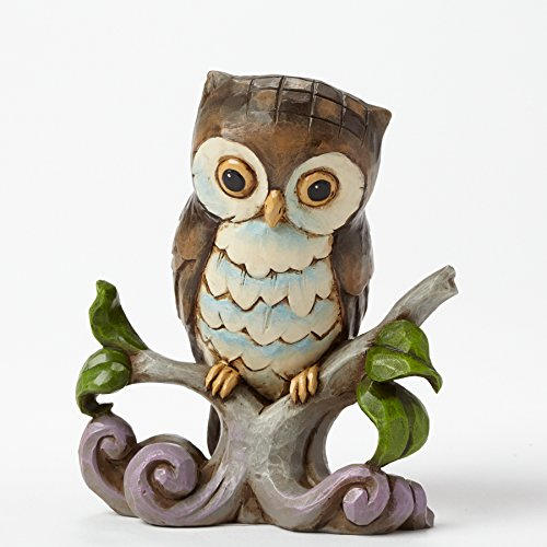 Mini Owl on a Branch