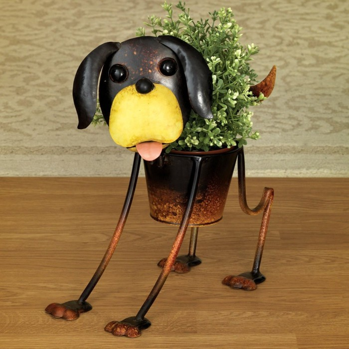 Outdoor Dog Urn Planter