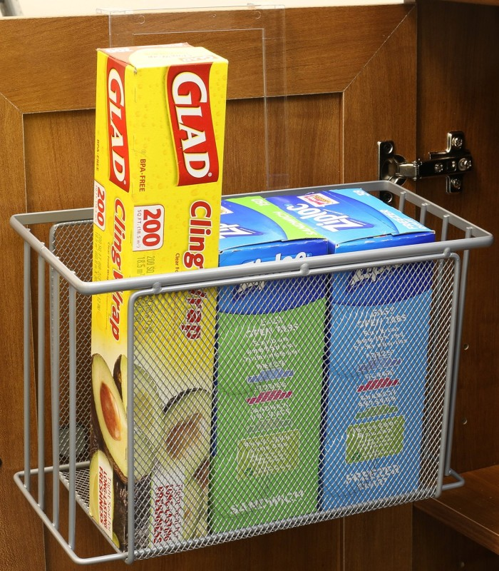 Over Cabinet Door Organizer Holder