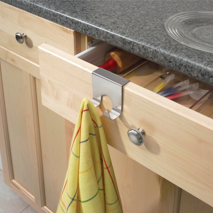 Over Cabinet Drawer Double Hook
