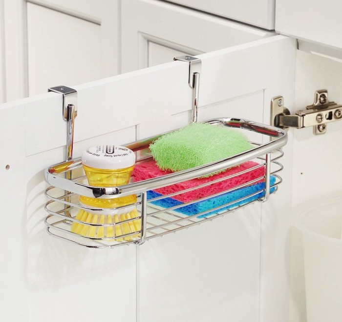Over Cabinet Tray Organizer Holder