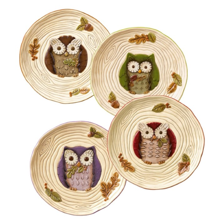 Owl Accent Plate