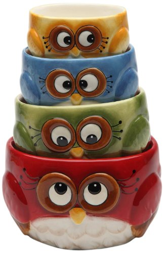 Owl Design Measuring Cups