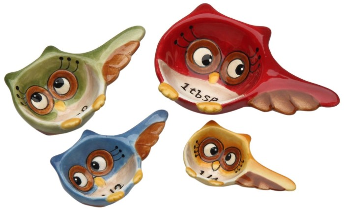 Owl Design Measuring Spoons