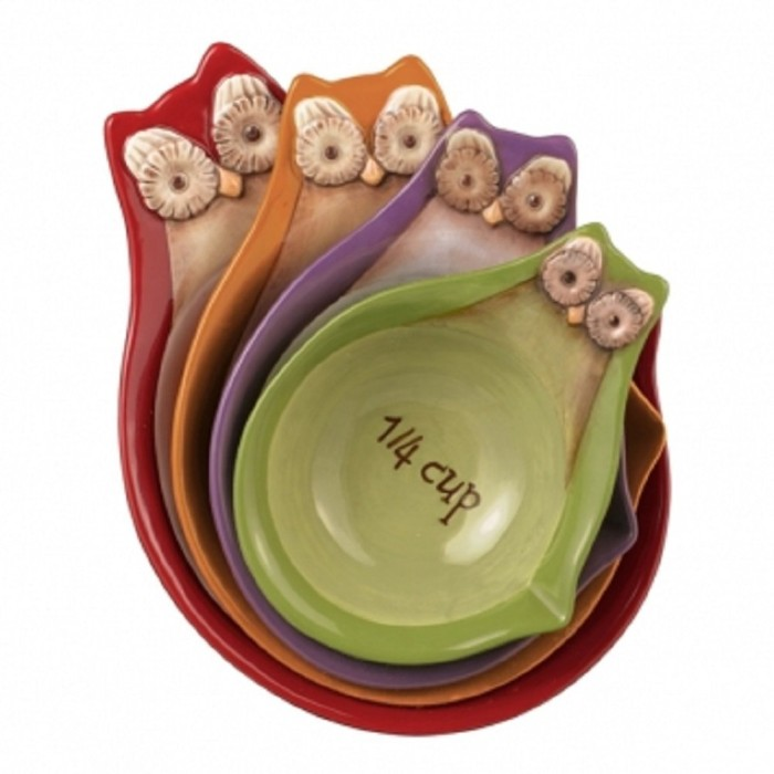 Owl Stacking Measuring Cups