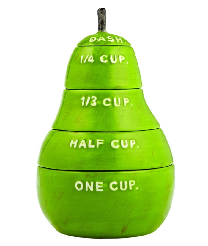 Pear Measuring Cups