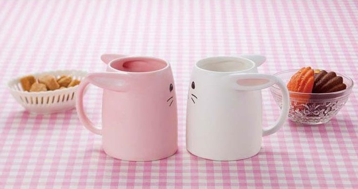 Rabbit Pair Mugs