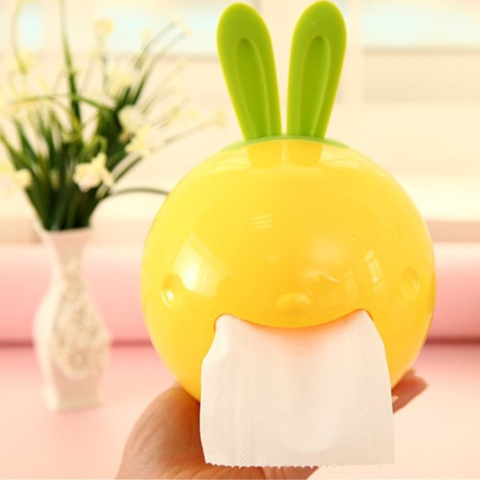 Rabbit Shaped Tissue Box Holder