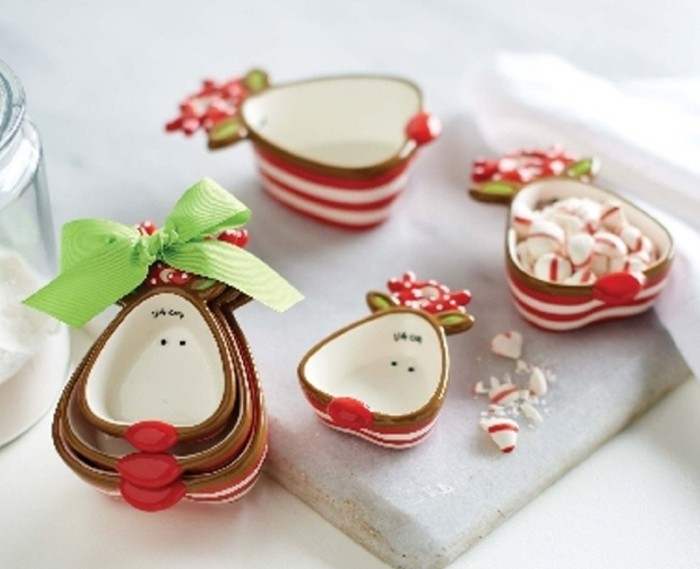 Reindeer Measuring Cup Set