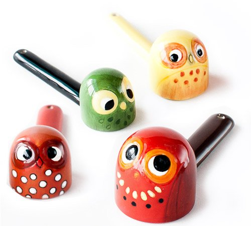 Retro Mod Owl Measuring Spoons