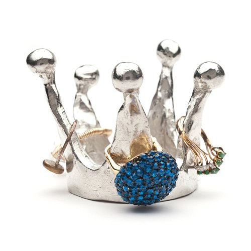 Royal Crown Ring Holder