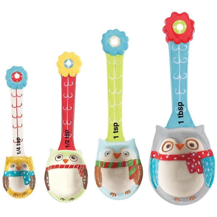 Snowy Owls Measuring Spoon Set