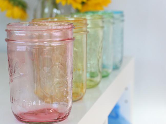 Tined mason jar