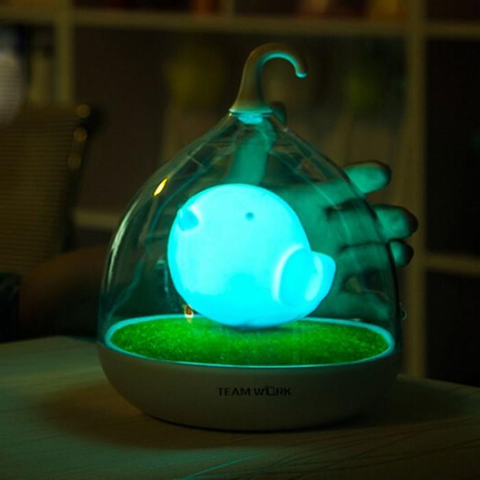 Touch Sensor Vibration Birdcage Lamp
