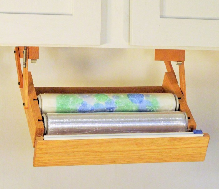 Under Cabinet Cling Wrap Dispenser