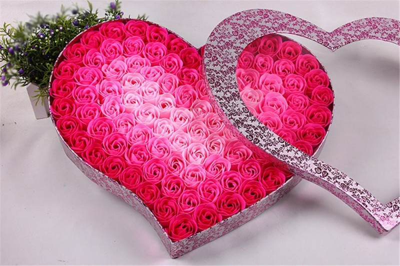 Valentine Flower Soap