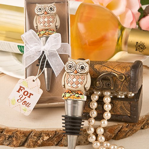Vintage Owl Bottle Stopper