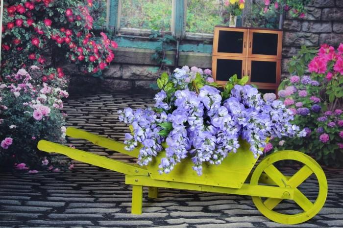 Wheelbarrow Farm Cart Planter
