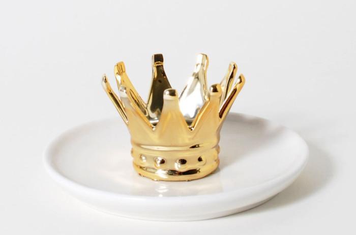 crown jewelry tray