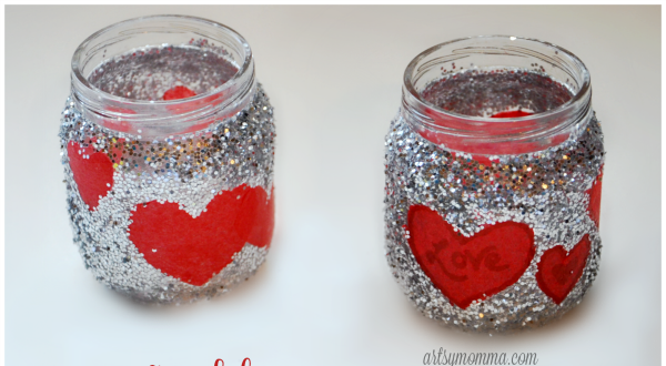 Baby Food Jar Candle Holders
