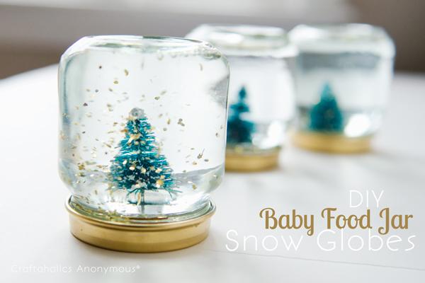 Baby Food Jar Snowbloges