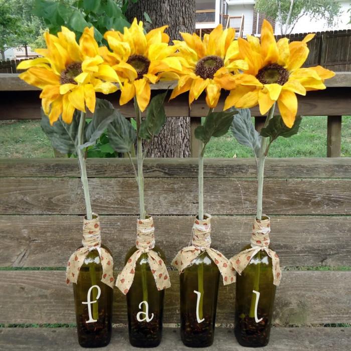 Creative Fall Vases