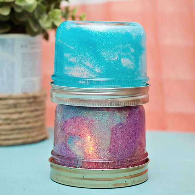 Cute Baby  Food Jar Nightlight