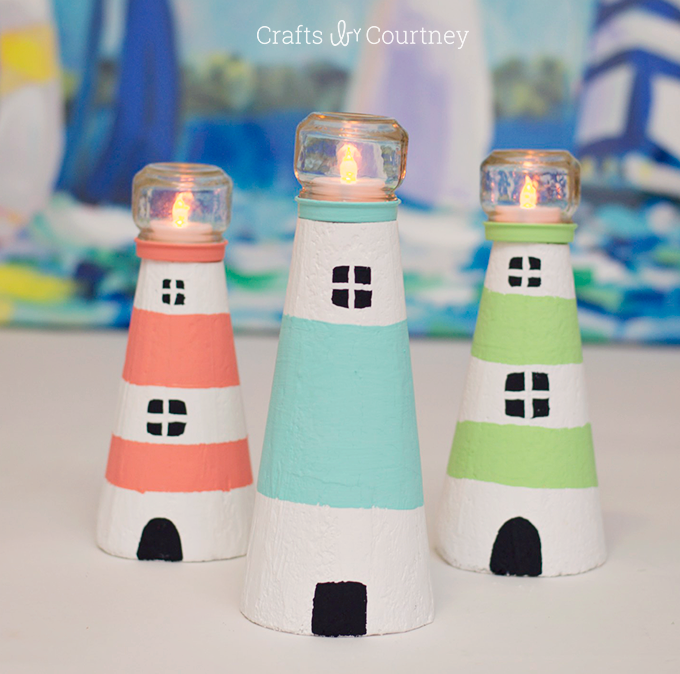 DIY Foam Lighthouse