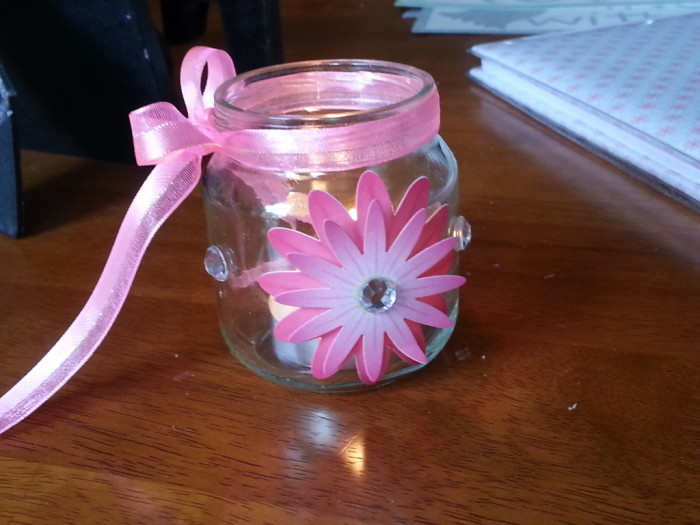 Lovable Baby Food Jar Craft