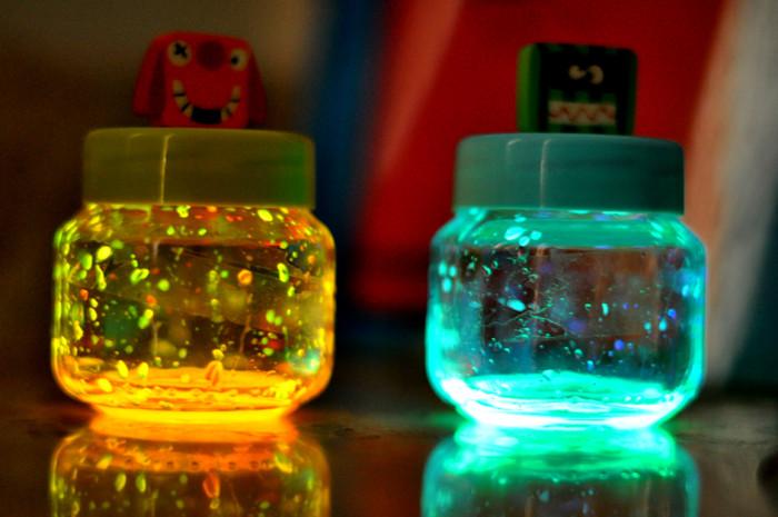 Mini lamps of monsters