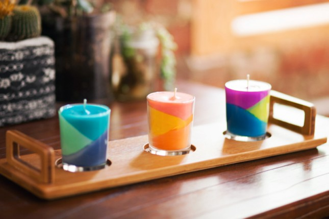 Reuse Crayons to make Candles