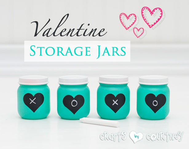 Valentine Storage Jars