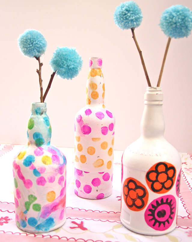 Wine Bottle Decorative Vases