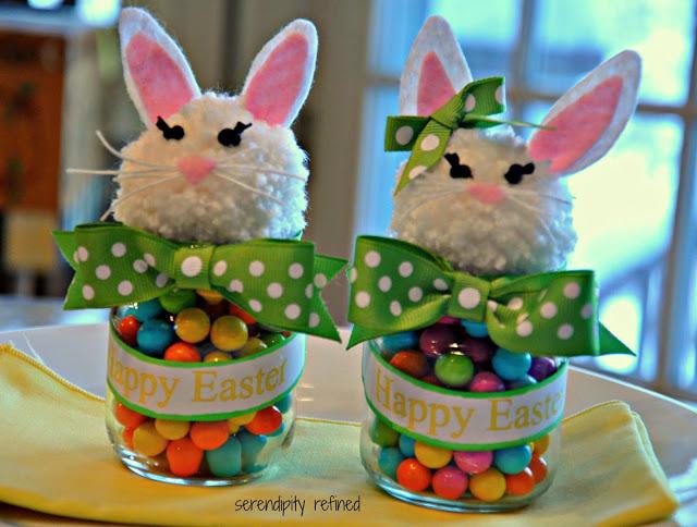 Baby Food Jar Bunny