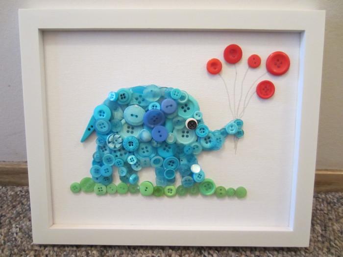Button Elephant