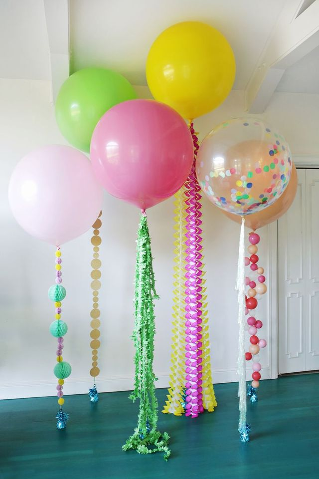 Creative DIY Balloons for Holiday Party