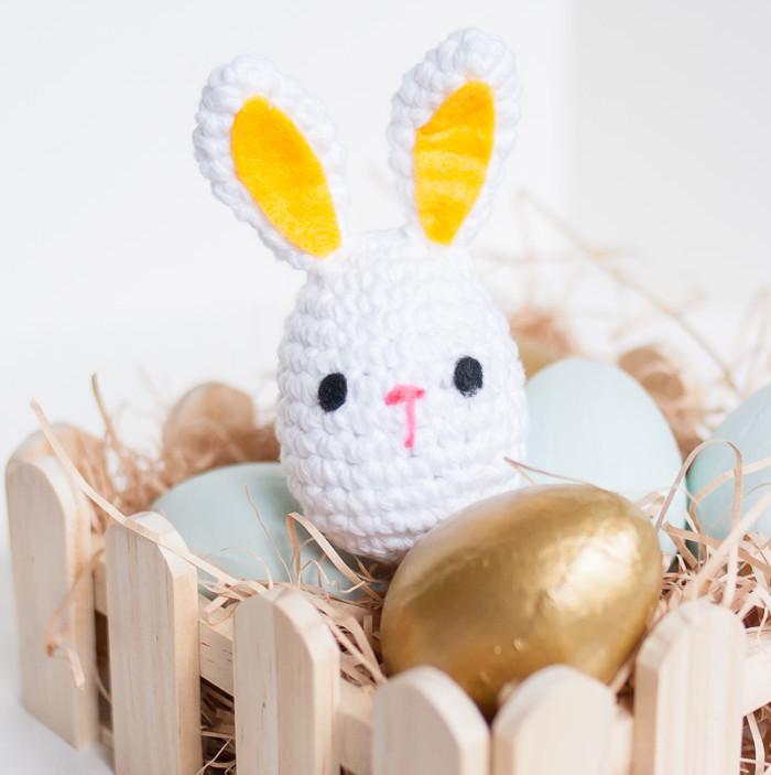 Crochet Monster Easter Bunny
