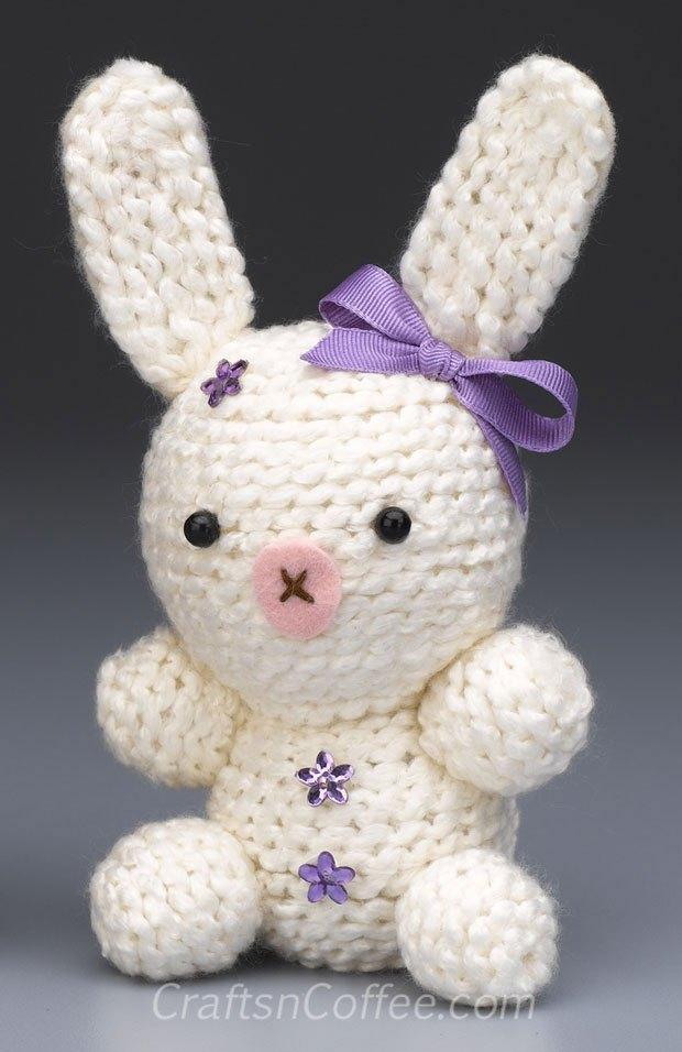 DIY Amigurimi Bunny