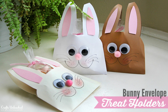 Easter Bunny Envelopes