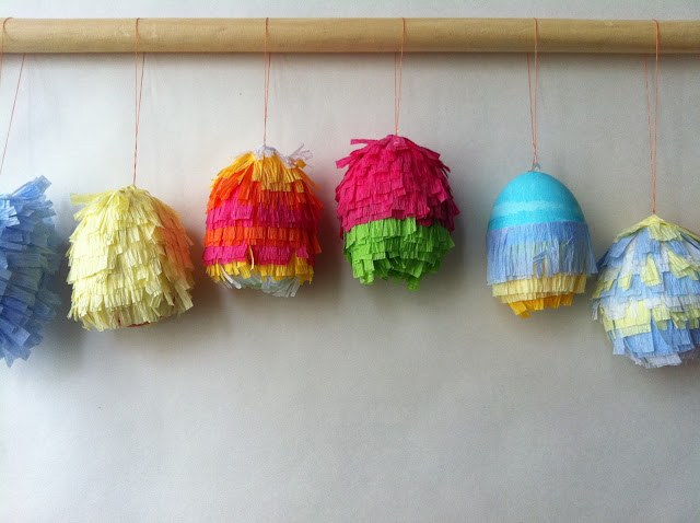 Easter Egg Pinatas