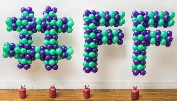 Floaty Balloon Sculpture