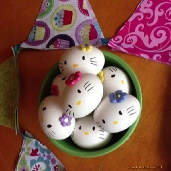 Little Kitty Easter Eggs