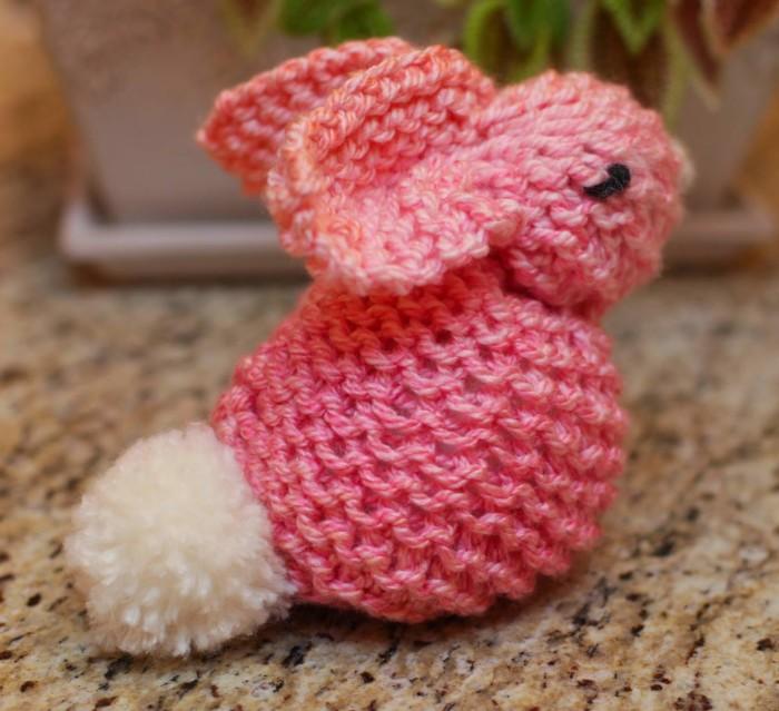 Loom Knit Bunny