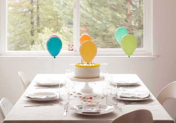 Mini Balloon Placecards