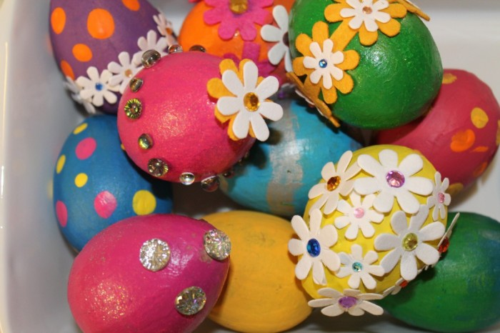 Painted Bling Eggs