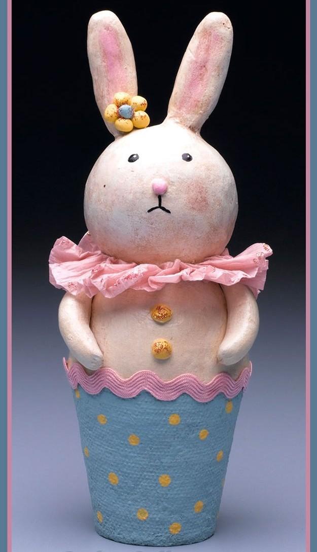 Paper Clay Bunny