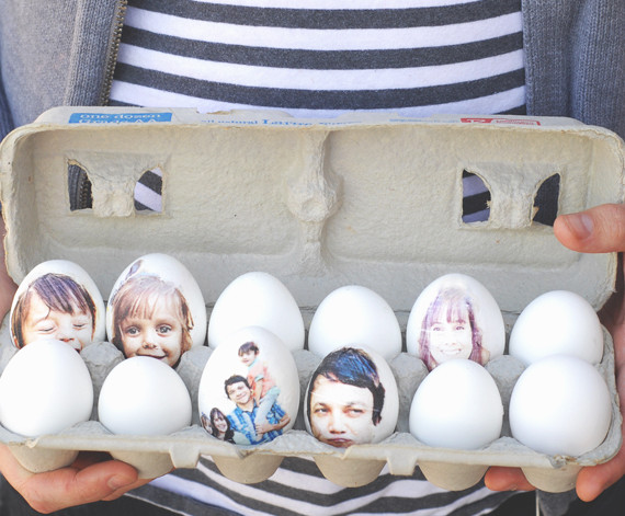 Photo Print Easter Eggs