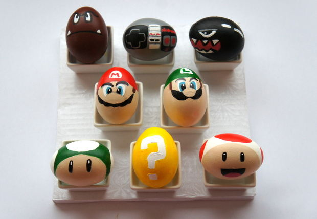 Super Mario Nintendo Eggs